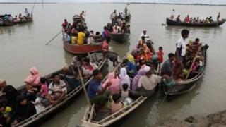 بسیاری از اقلیت مسلمان روهینگیا در تلاش برای رسیدن به بنگلادش کشته شدهاند