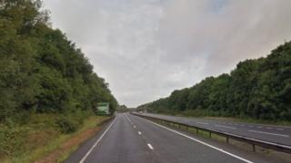 The A5, Milton Keynes