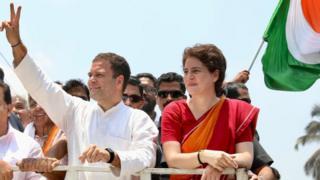 राहुल आणि प्रियांका गांधी