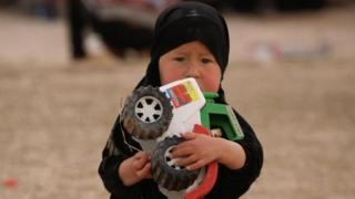 Anak di al-Hol. Nasib kebanyakan dari mereka tidak menentu.