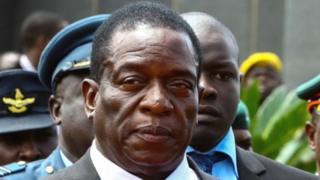 Emmerson Mnangagwa, zimbabwe
