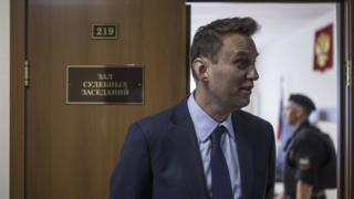 Навальный, суд