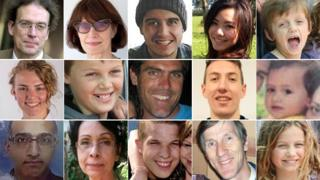Victims on board MH17