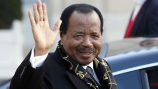 Paul Biya - Cameroon president