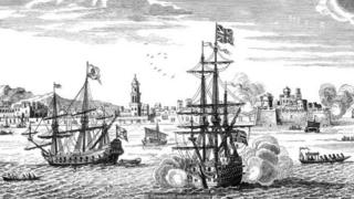 अरबों की दौलत से भरा जहाज़, जो कार्टाजेना तट के पास डूबा हुआ है