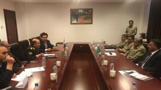 مقامهای نظامی افغانستان و پاکستان