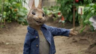 صحنه ای از فیلم تازه پیتر خرگوش