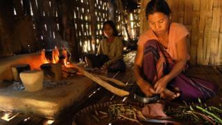 উত্তর-পূর্ব ভারতে চাকমা একটি শরণার্থী শিবির