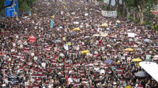 Hong Kong protests test Beijing's 'foreign meddling' narrative