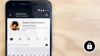 Secret message screenshot shared by Facebook