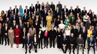The 2020 Oscars class photo