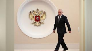 Rusya Devlet Başkanı seçilen Vladimir Putin