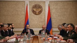 Paşinyan Qarabağa gedib