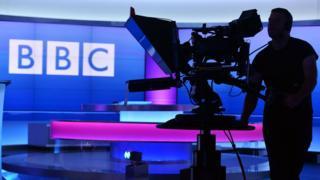 A BBC cameraman