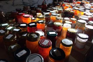Jars of marmalade entries