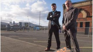 Philip McIntosh and Mike Crow are among the entrepreneurs in the new show