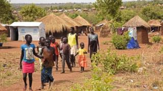 Mülteci kampında çocuklar , 2017