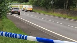 The shooting happened at an area known locally as Lletty Turner Bends