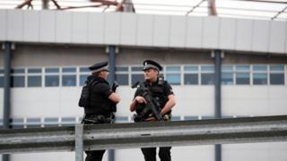 полиция в Глазго