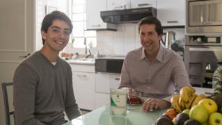 Javier y su padre