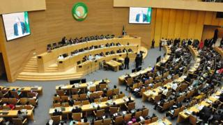 Meeting room for African Union