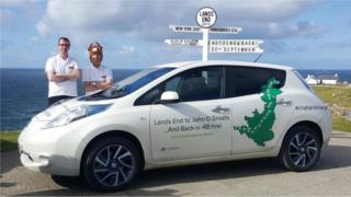 John O'Groats to Land's End electric car bid
