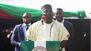 Gọvanọ na-achị Enugu