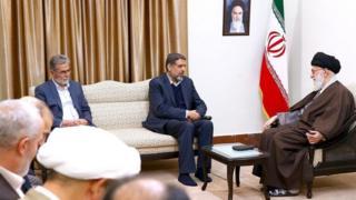 دیدار رهبران جهاد اسلامی با آیتالله خامنهای