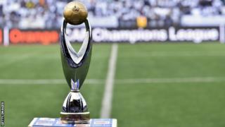 Le trophée de la Ligue des champions de l'Afrique