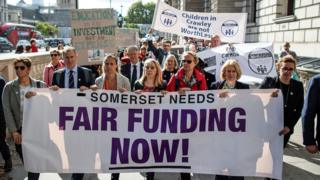 Funding protest