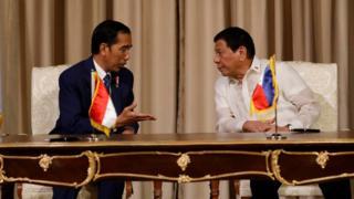 Jokowi dan Duterte