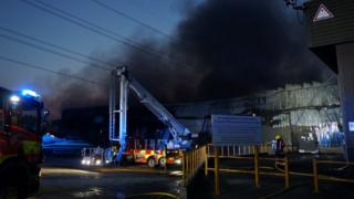 Bedfordshire Growers fire