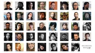 Escritores del Bogotá39 del Hay Festival