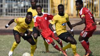 Asante Kotoko est actuellement classé en quatrième position au championnat ghanéen.