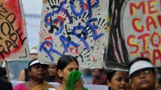 16 दिसंबर 2014 हुए दिल्ली गैंग रेप के विरोध में कोलकाता में एक रैली