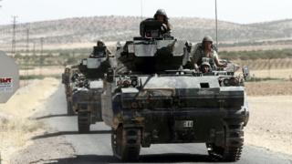 Suriyadakı türk tankları