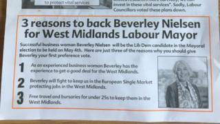 the leaflet