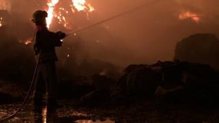 Oxton fire