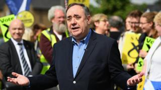 Alex Salmond denies the claims made against him