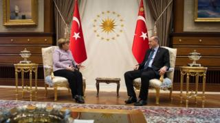 مرکل - اردوغان