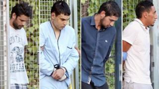 Tersangka serangan di Spanyol