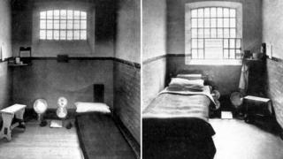 Cells at Holloway Prison, London - 1908
