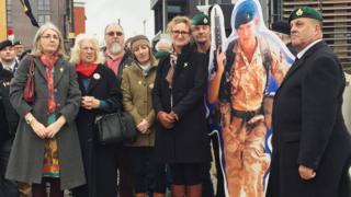 Rally for Alex Blackman in Birmingham