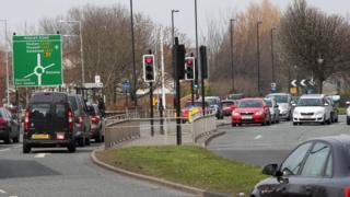 Stamfordham Road in Newcastle