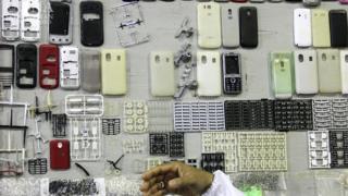 کارخانه تولید موبایل