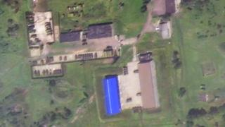 Digital Globe satellite image - 17 July 2014