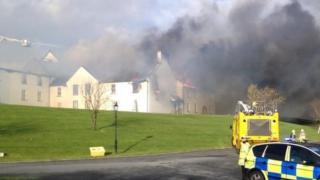 Mount Murray hotel fire