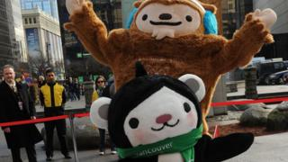 Mascots of the 2010 Olympic and Paralympic Winter Games