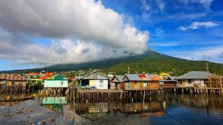 印度尼西亚的特内特岛