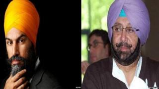 Jagmeet Singh and Amrinder Singh
